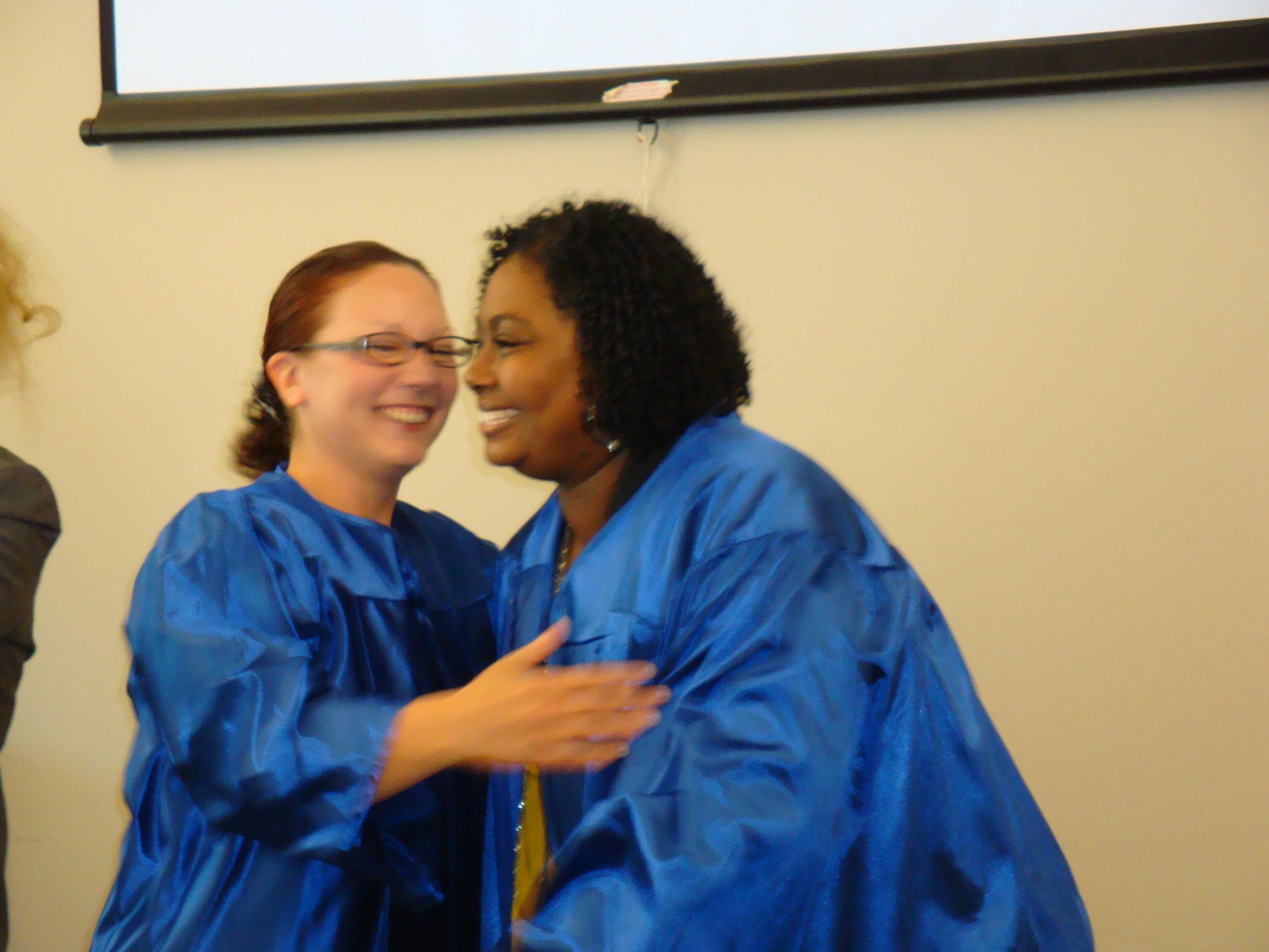 Phlebotomy Career Training Graduating Students