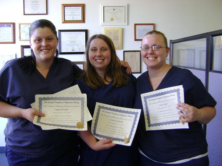 Phlebotomy Technician Graduates