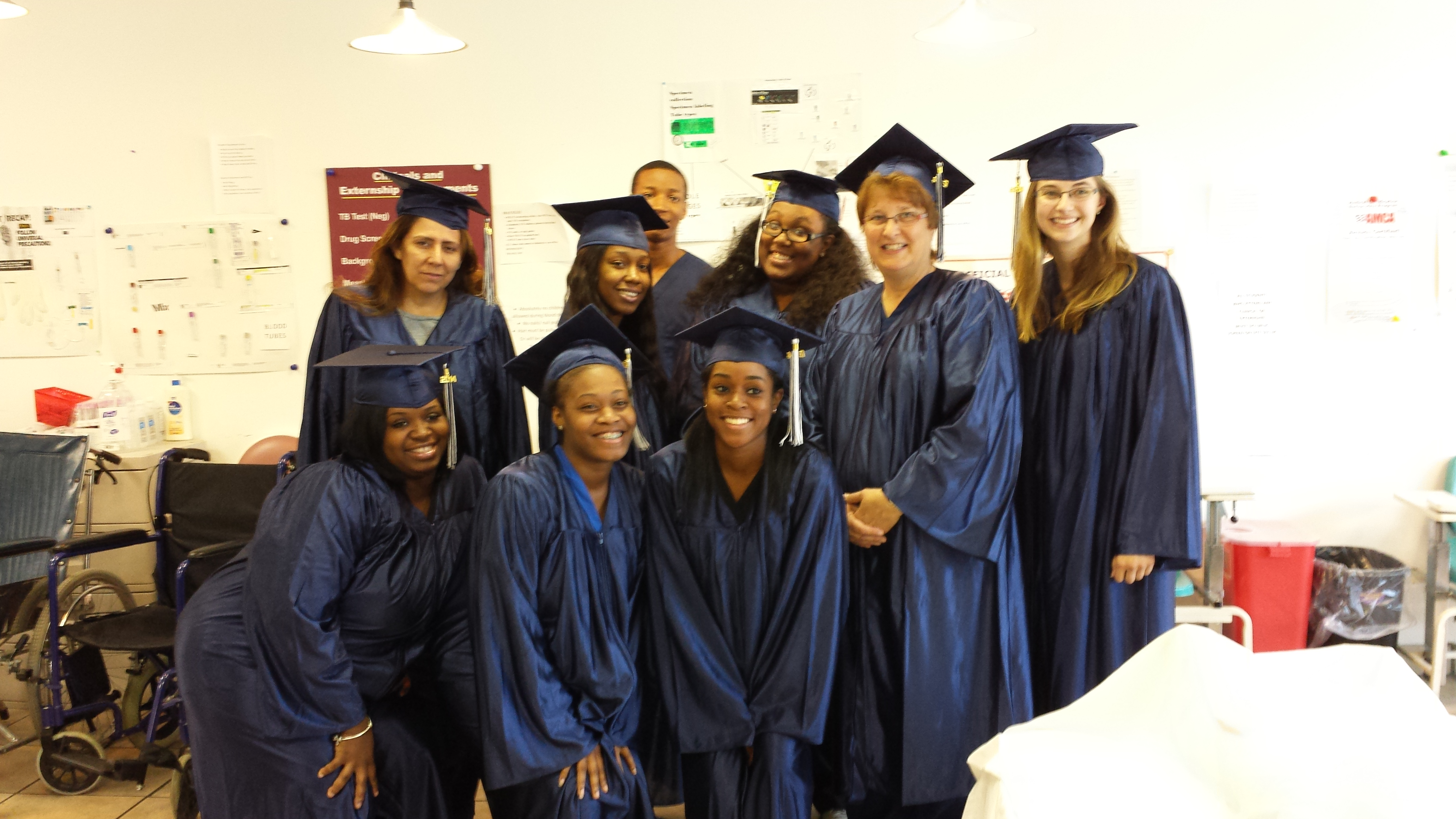 Patient care technician 500 phlebotomy career training we are so proud of our graduates 1betcityfo Choice Image