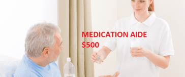 medication aide certification online