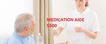 medication aide certification online