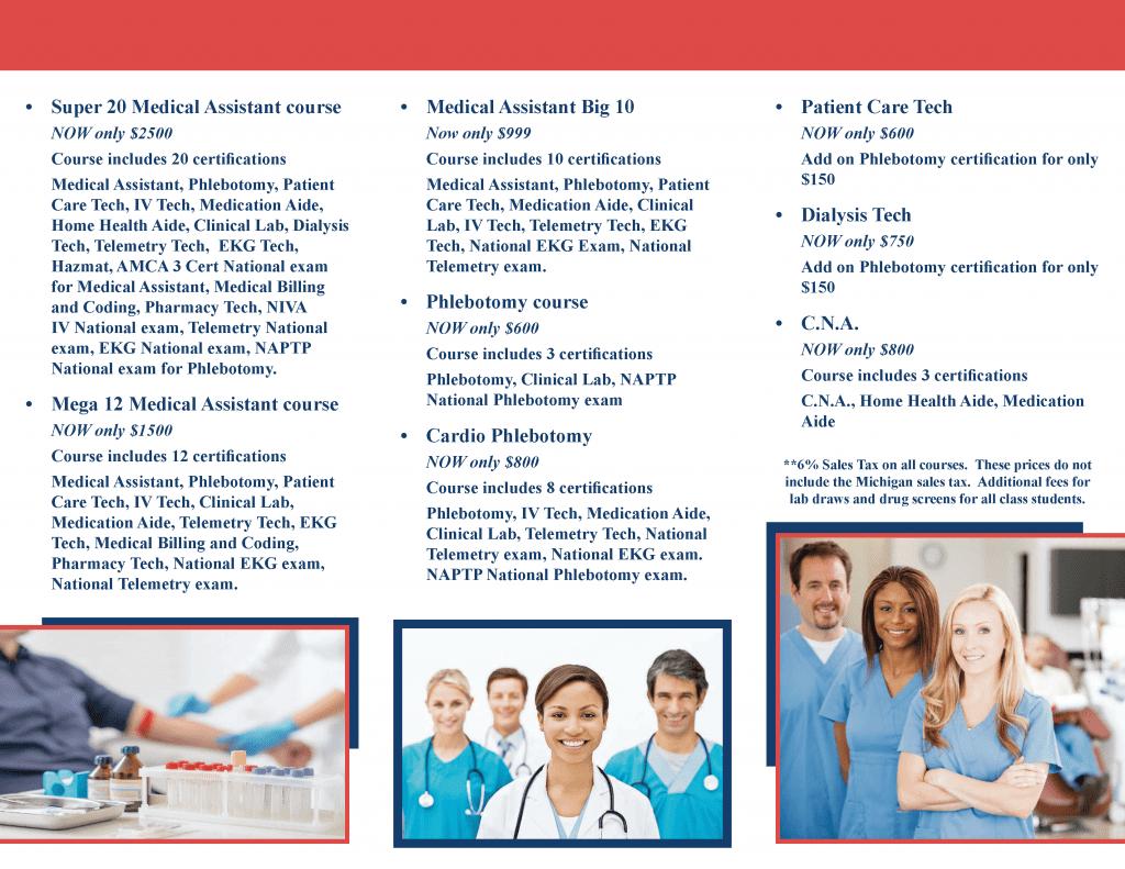 Phlebotomy Career Training Brochure Phlebotomy Career Training