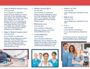 Phlebotomy Career Training Brochure Phlebotomy Career