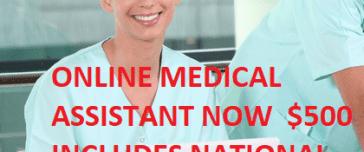 Online medical assistant classes
