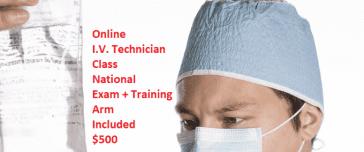 Online IV Technician class