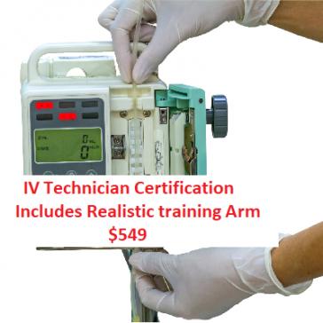 IV training online for nurses
