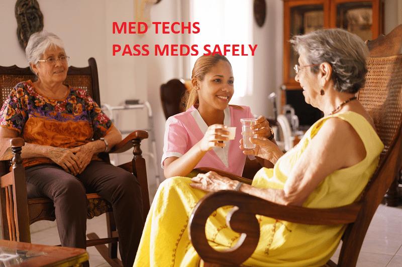 medication technician classes