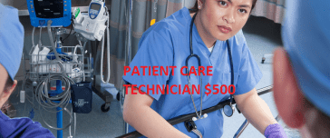 Patient Care Technician class