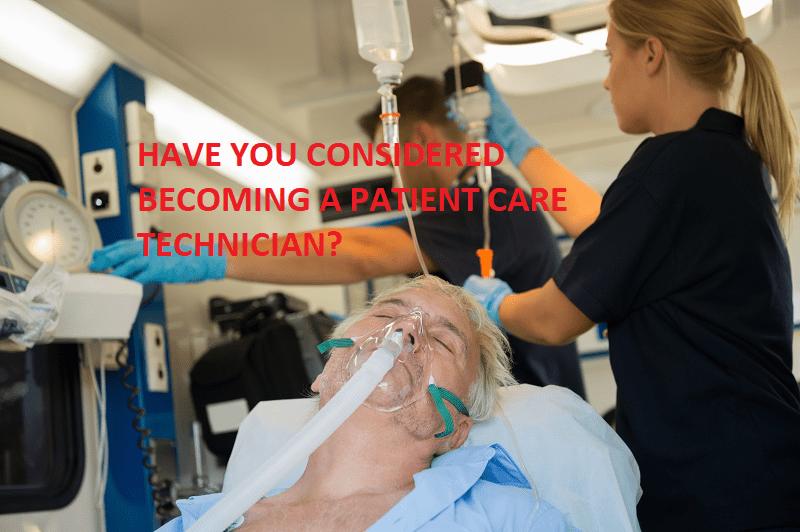 Patient Care Technician classes